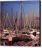 Yacht Marina Canvas Print