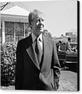 Jimmy Carter (1924- ) Canvas Print
