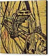 Bike 3 Canvas Print by William Cauthern