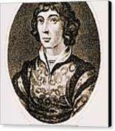 Nicolaus Copernicus, Polish Astronomer Canvas Print