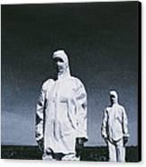 Protective Clothing Canvas Print by Cristina Pedrazzini