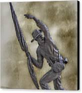 11th Mississippi Infantry Regiment At Gettysburg Canvas Print