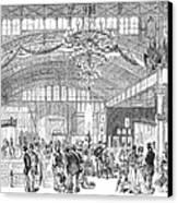 Centennial Fair, 1876 Canvas Print