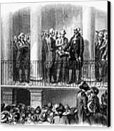 Washington: Inauguration Canvas Print by Granger