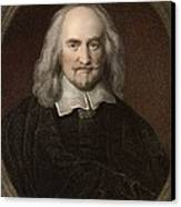 1660 Thomas Hobbes English Philosopher Canvas Print
