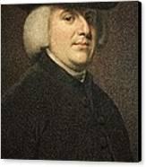 1789 William Paley Portrait Naturalist Canvas Print by Paul D Stewart