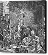 French Revolution, 1789 Canvas Print by Granger