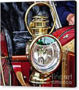1907 Stanley Steamer - Lantern Canvas Print by Kaye Menner