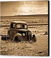 1938 Ford Pickup Canvas Print by Steve McKinzie