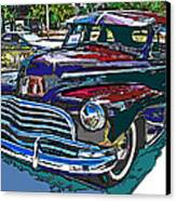 1946 Chevrolet Canvas Print by Samuel Sheats