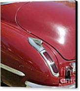 1947 Cadillac . 5d16185 Canvas Print by Wingsdomain Art and Photography