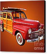 1947 Woody Canvas Print by Jim Carrell