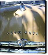 1949 Plymouth Delux Sedan . 5d16206 Canvas Print