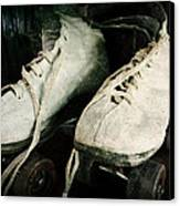 1950's Roller Skates Canvas Print by Michelle Calkins