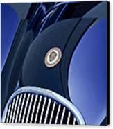 1951 Jaguar Proteus C-type Grille Emblem 4 Canvas Print by Jill Reger