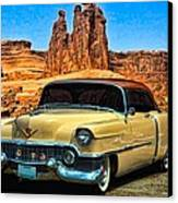 1954 Cadillac Coupe Deville Canvas Print by Tim McCullough