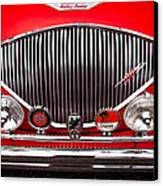 1955 Austin Healey 100-4 Canvas Print by David Patterson