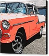 1955 Chevy Canvas Print by Steve McKinzie