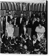 1960 Inaugural Ball. President Kennedy Canvas Print
