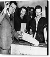 1962 Presidential Election. Senator Canvas Print by Everett
