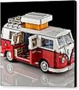 1962 Vw Lego Bus Canvas Print