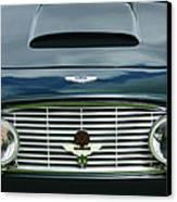 1963 Aston Martin Db4 Series V Vantage Gt Grille Canvas Print by Jill Reger