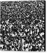 1963 March On Washington. Crowd Canvas Print by Everett