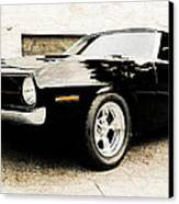 1970 Plymouth Cuda Canvas Print by Phil 'motography' Clark