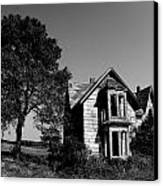 Abandoned House Canvas Print by Cale Best