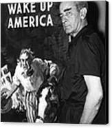 American Artist And Cartoonist James Canvas Print