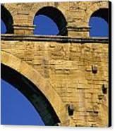 Aqueduc Du Pont Du Gard.provence Canvas Print