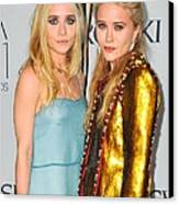 Ashley Olsen Wearing The Row, Mary-kate Canvas Print