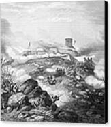 Battle Of Chapultepec, 1847 Canvas Print