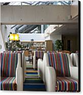 Business Lounge At An Airport Canvas Print by Jaak Nilson