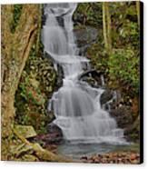 Buttermilk Falls Canvas Print by Stephen  Vecchiotti