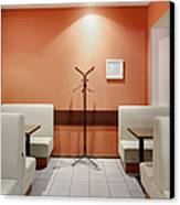 Cafe Dining Room Canvas Print