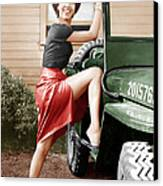 Carmen Jones, Dorothy Dandridge, 1954 Canvas Print