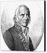 Chevalier De Lamarck Canvas Print