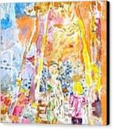 Children Canvas Print by Kostas Dendrinos