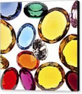 Colorful Gems Canvas Print by Setsiri Silapasuwanchai