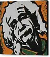 Einstein 2 Canvas Print