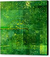 Emerald Heart Canvas Print by Christopher Gaston