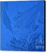 Frost On A Windowpane Canvas Print
