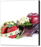 Healthy Diet Canvas Print by Photo Researchers, Inc.