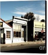 Historic Niles District In California Near Fremont . Main Street . Niles Boulevard . 7d10676 Canvas Print
