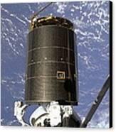 Intelsat Vi, A Communication Satellite Canvas Print