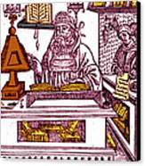 John Peckham, Anglican Theologian Canvas Print
