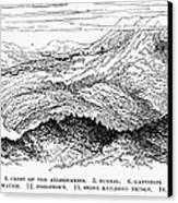 Johnstown Flood, 1889 Canvas Print