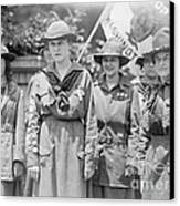 Juliette Daisy Low, Founder Of The Girl Canvas Print