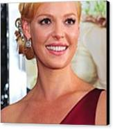 Katherine Heigl At Arrivals For Life As Canvas Print